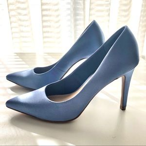 Christian Siriano Payless Satin Pointed Toe Pumps